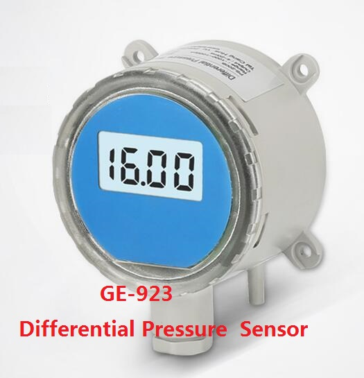 LCD Screen Air Differential Pressure Sensor