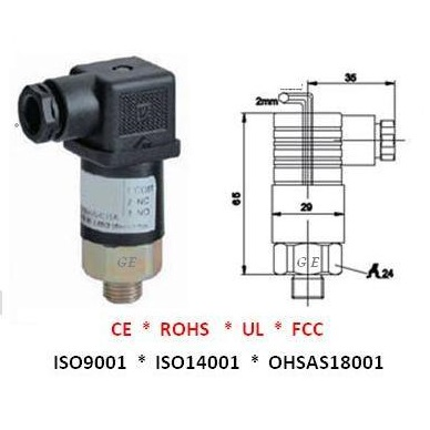 Adjustable Pressure Switch GE-208