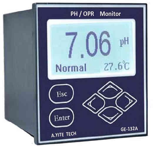 GE-132 PH ORP Analysis Online Meter