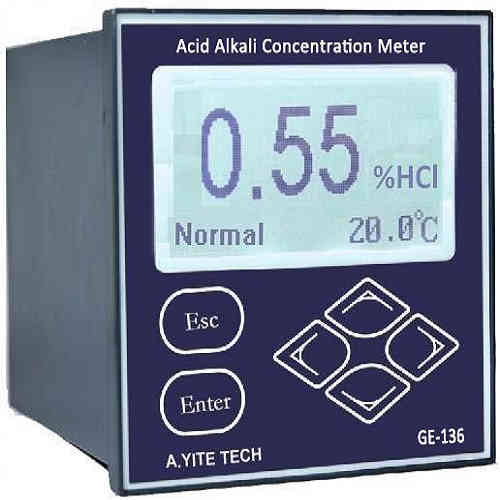 GE-136 Acid Alkali Concentration Meter