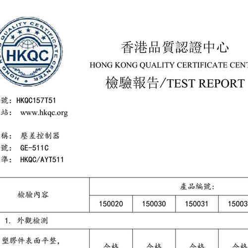 Test Report from Third Part