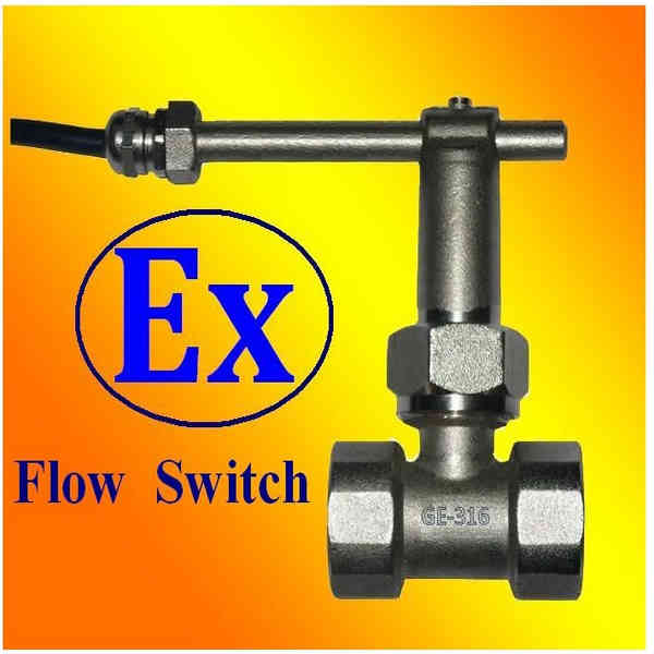 ExdIICT6 Paddle Flow Switches ATEX