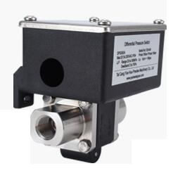 Differential Pressure switches with stainless steel body