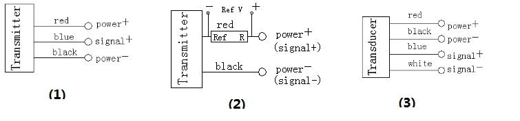 风压变送器接线图